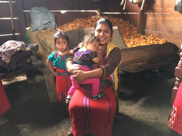 Guatemala corn home