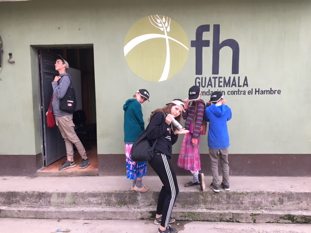 Guatemala kids in FH