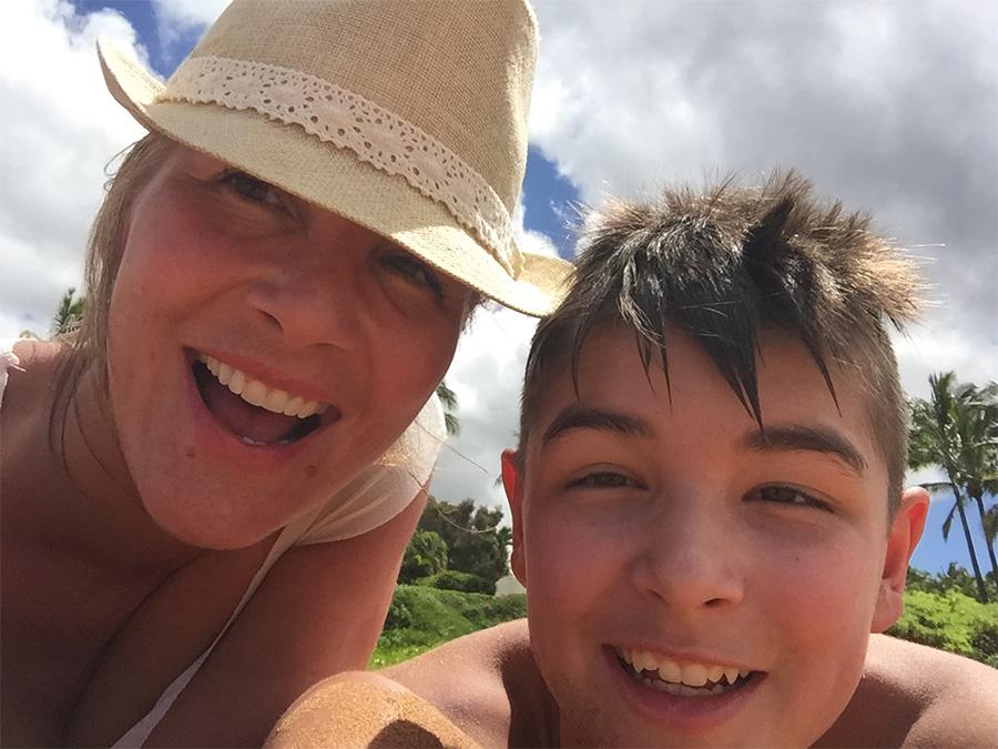 Maui liam and me